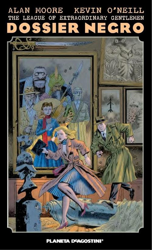 League of Extraordinary Gentlemen Dossier Negro