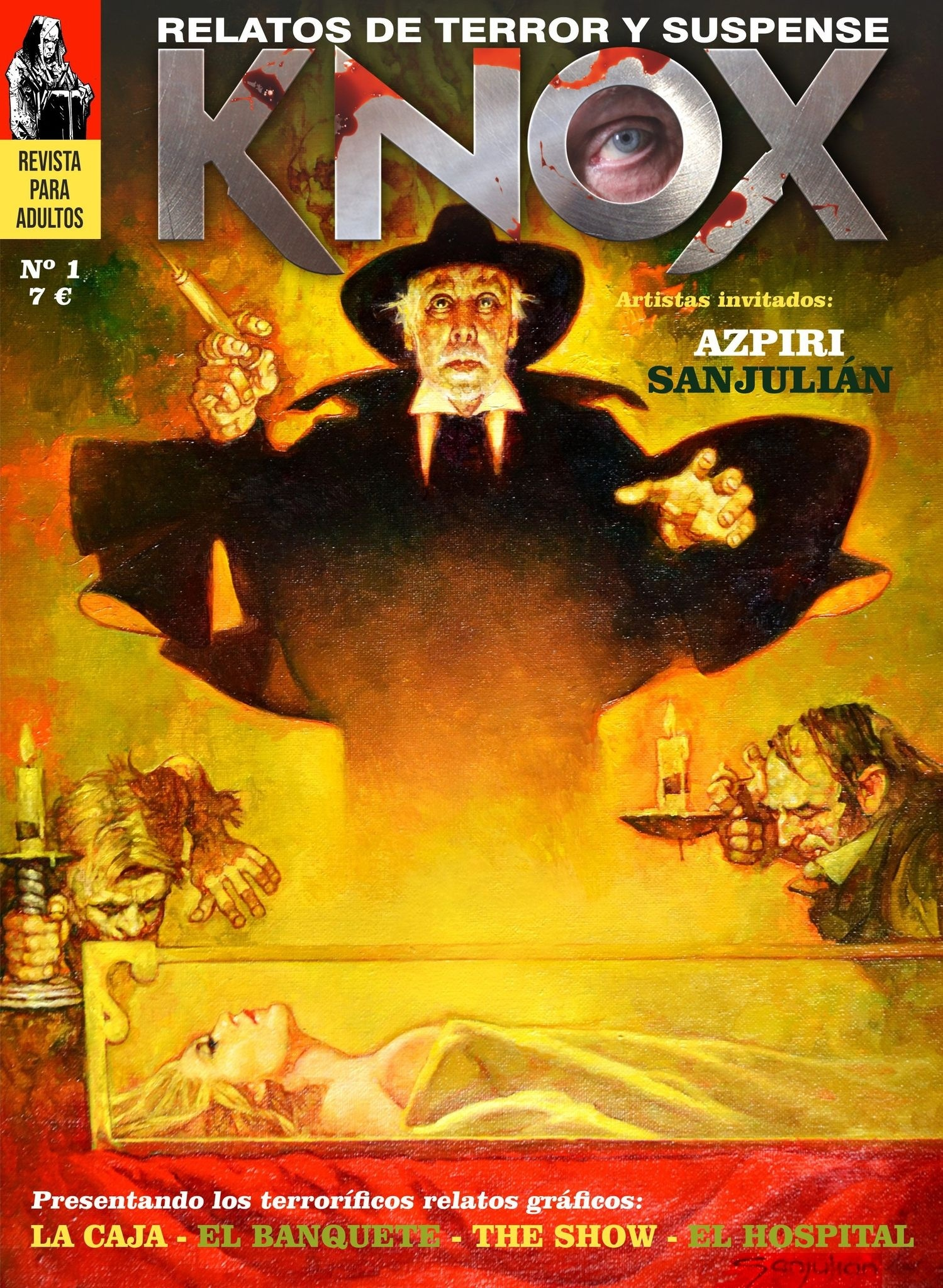 Knox nº1. Relatos de terror y suspense